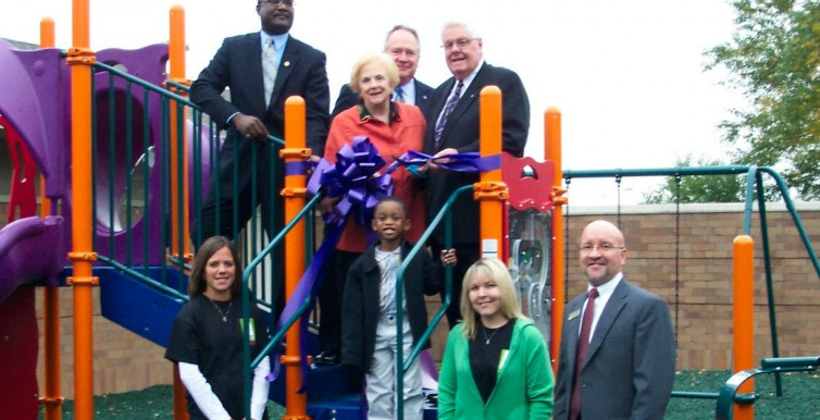 School Playground Dedication Ceremony