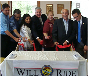 Will Ride Ceremonial Ribbon Cutting