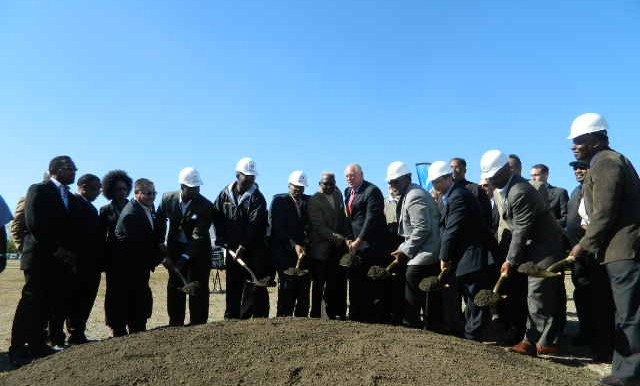 Ground breaking of PACE new facility