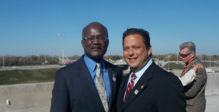 With Representative Bob Rita, Chairman of the Tollway Oversight Committee
