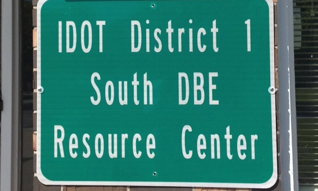 IDOT DBE Resource Sign
