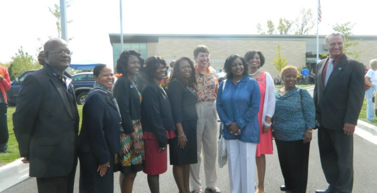 Photo with Lt Governor Sheila Simon