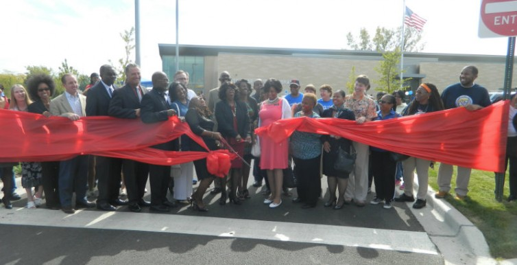 Richton Park Library Ribbon Cutting